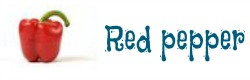 Cómo se dice red pepper