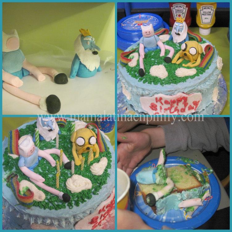 cake de adventure time