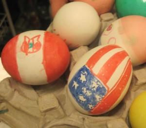 Easter eggs, huevos de pascuas