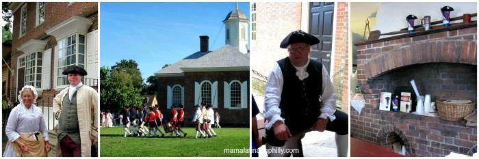 Viviendo la historia en Colonial Williamsburg, Pennsylvania