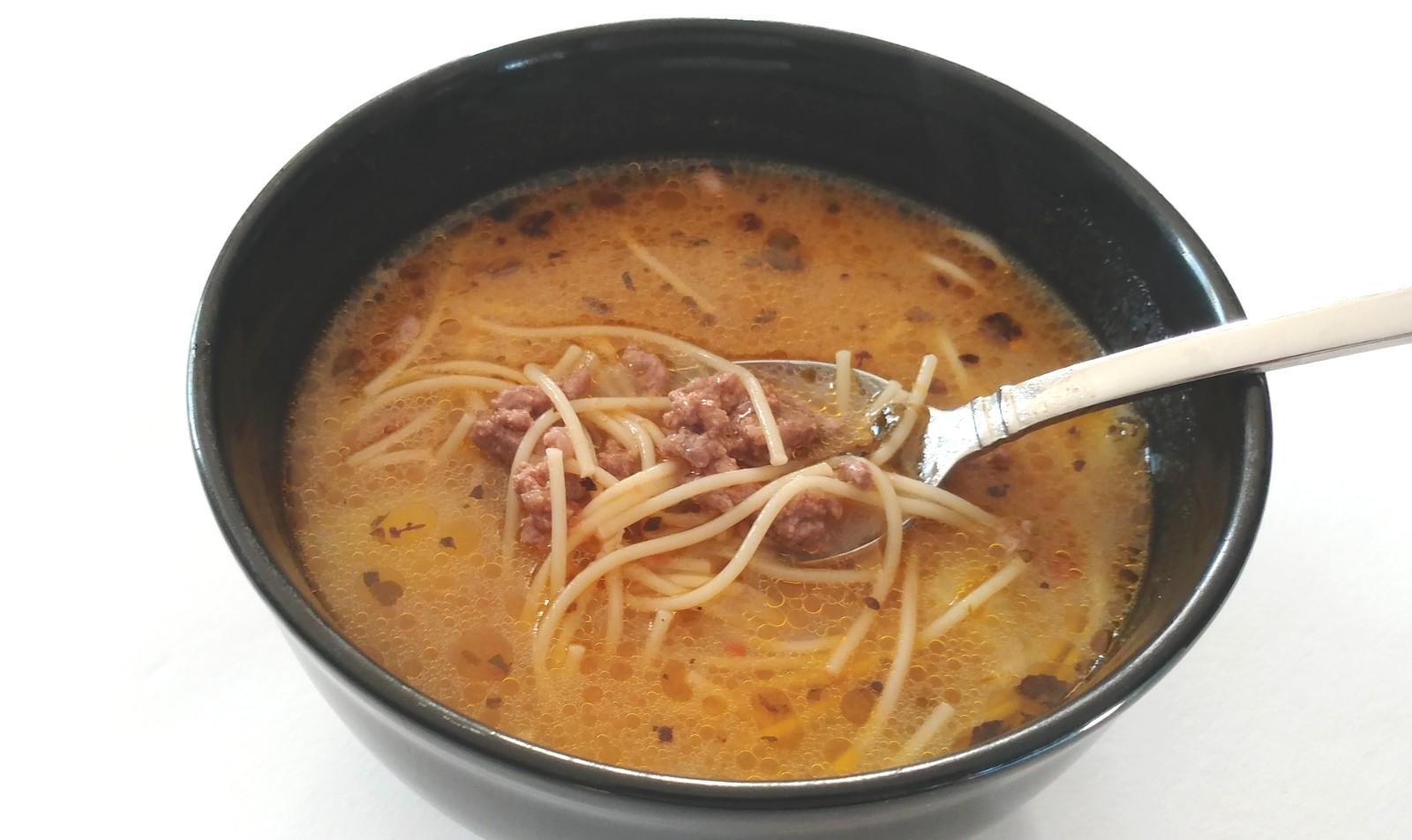 Una deliciosa sopa a la minuta al estilo peruano