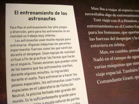 Max viaja al espacio