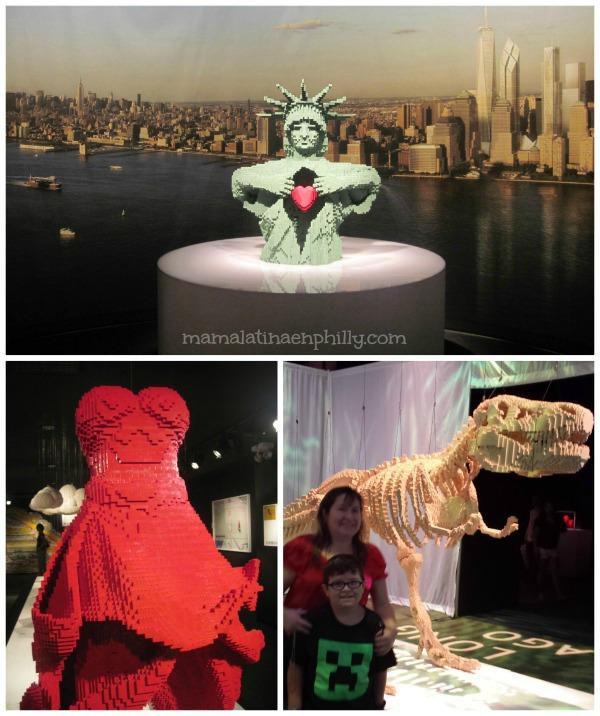 Maravillosas esculturas con lego Discovery TImes Square