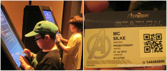 Visita al Discovery Times Square Avengers