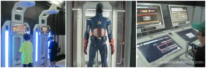 Capitan America DIscovery Times Square