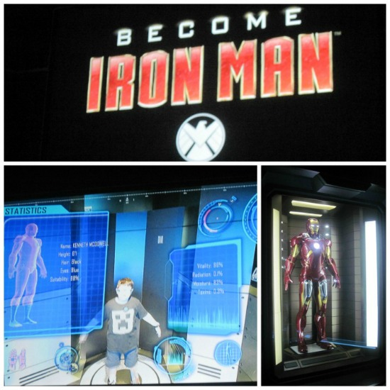 Iron Man Discovery Times Square