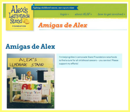Amigas de Alex lemonade