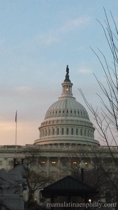 EL Capitolio en Washington DC, cómo llego desde Philadelphia