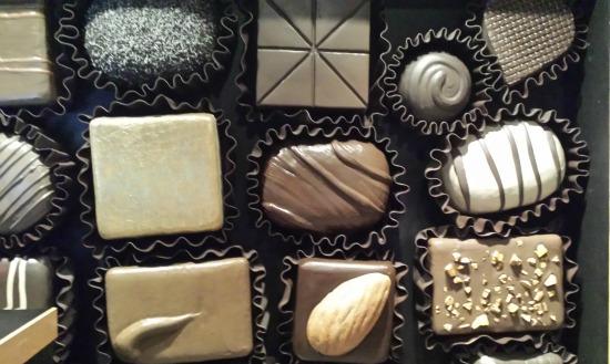 Chocolate la exhibición