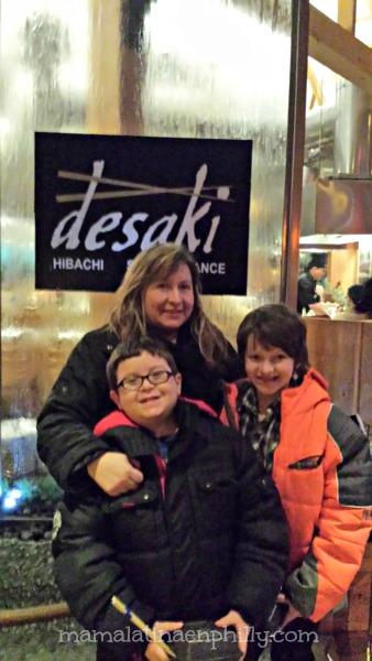 El restaurante Desaki en los poconos