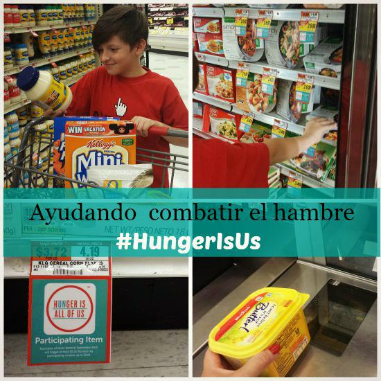 Ayuda a combatir el hambre apoyando la campaña Hunger Is #HungerIsUS