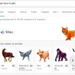 animales y sonidos en google