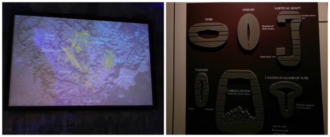 Imágenes y gráficos de la complejidad de Mammoth Cave