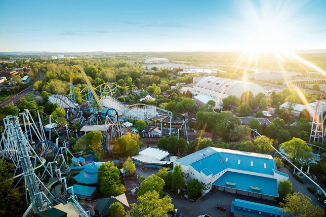 Hersheypark, uno de los principales atractivos y lugares para divertirse en familia en Pennsylvania.