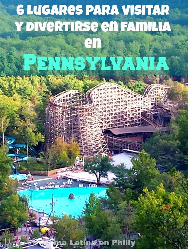 Estos son solo 6 de los muchos lugares para visitar y divertirse en familia en Pennsylvania.