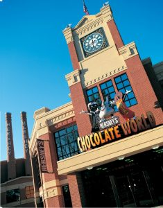 Hershey Chocolate World en Hershey Park, Pennsylvania