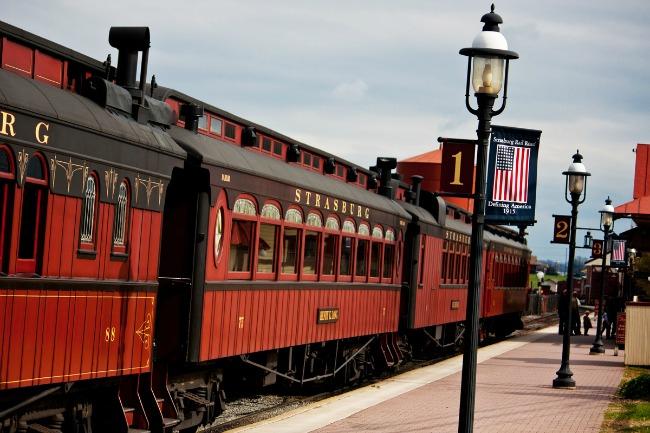 Strasburg Rail Road es otro de los atractivos para visitar en familia en Pennsylvania