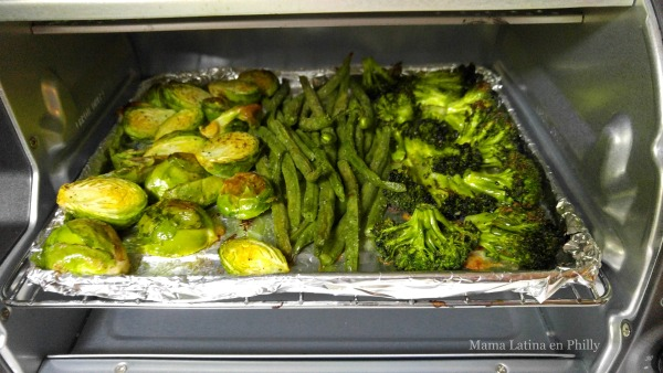 vegetales al horno hamilton beach