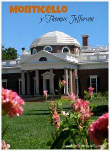 La casa de Thomas Jefferson en Monticello