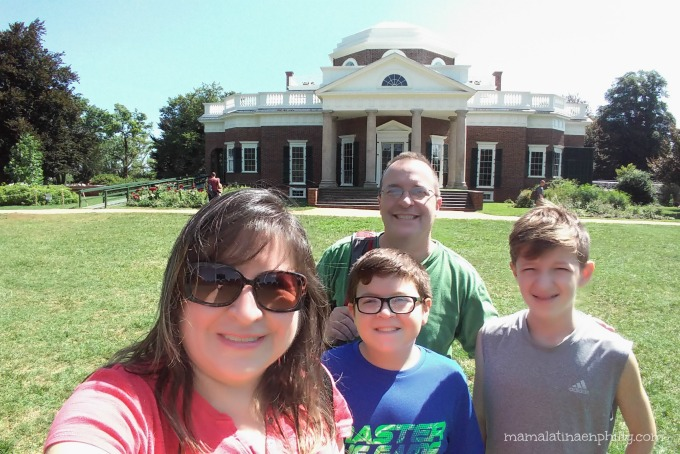 Thomas Jefferson y Monticello, su casa y plantaciones en Virginia