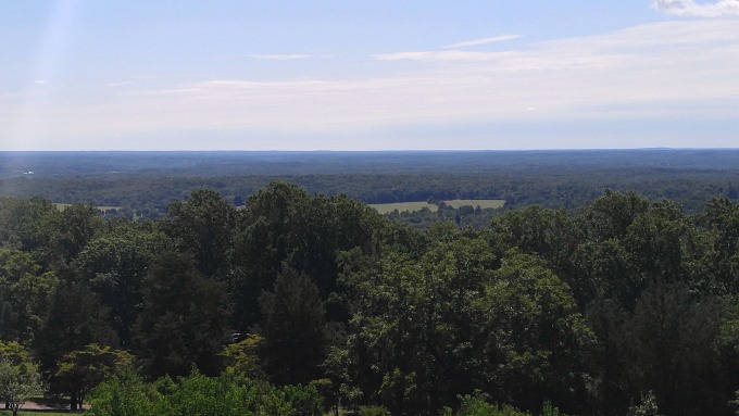 Vista panoramica desde Monticello