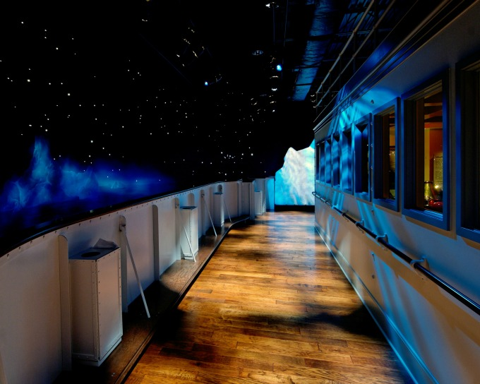 Temperaturas bajas y exteriores del Titanic