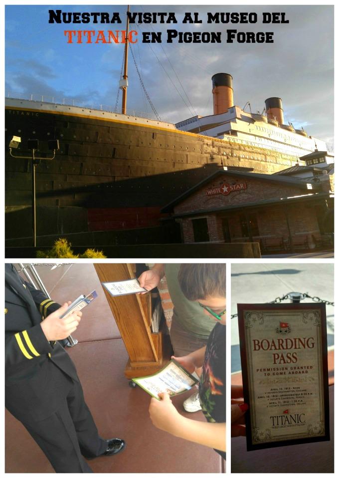 El museo del Titanic en Pigeon Forge