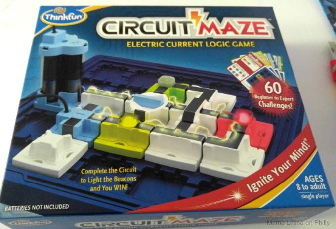 Circuit maze de thinkfun,  lógica y electricidad para niños.