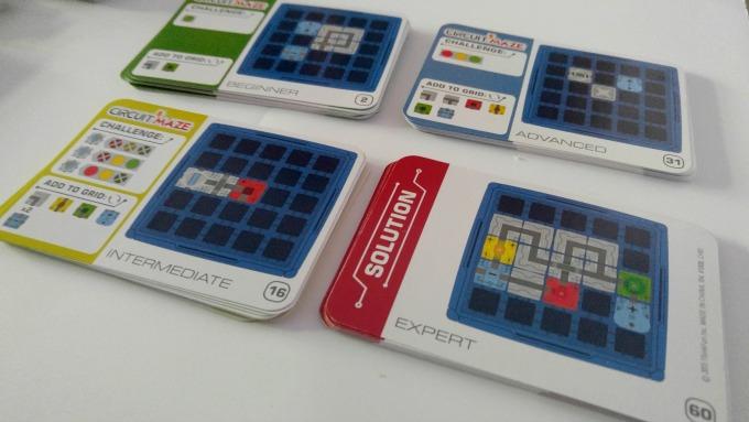 tarjetas que incluye circuit maze