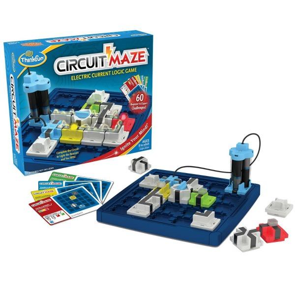Circuit Maze, un juego de lógica de corriente eléctrica.