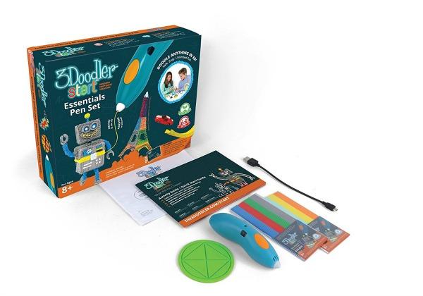 Set de 3Doodler pen. Lapicero para dibujar en 3D.