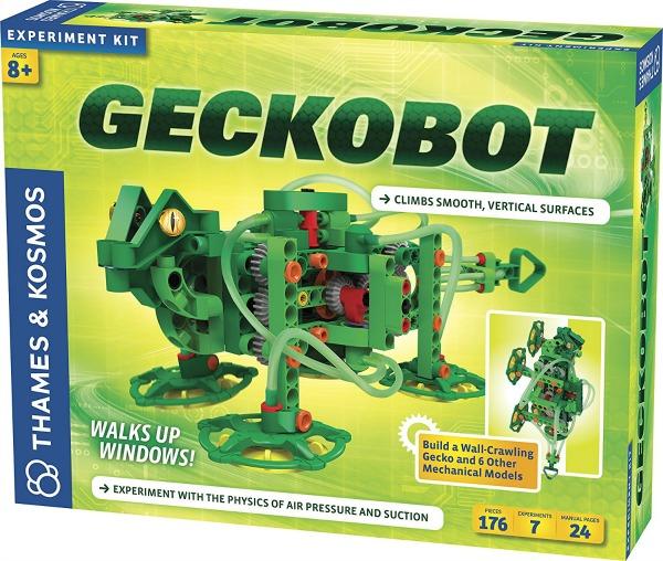 geckobot, un robot que se desplaza por espacios verticales. Juguetes STEM