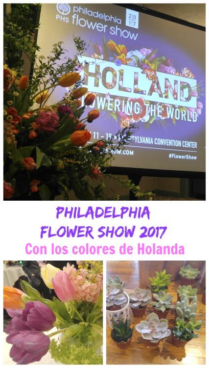 Philadelphia Flower Show 2017, este año con los colores de Holanda