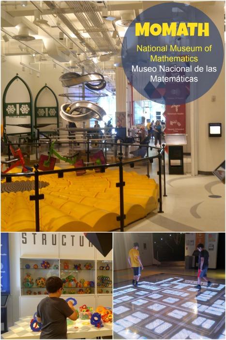 Museo de las matematicas en New York, Momath