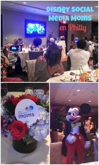 Una noche con Disney Social Media Moms en Philadelphia