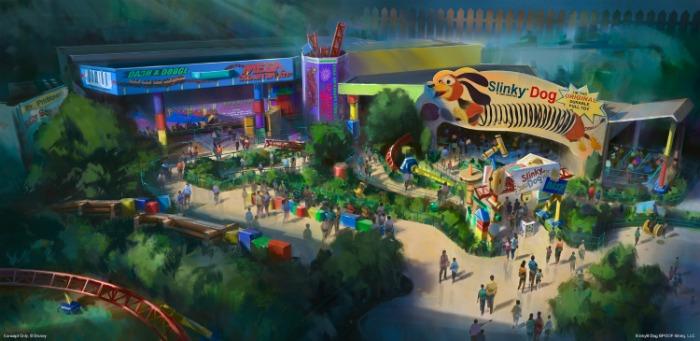 El mundo de Andy de Toy Story en Disney