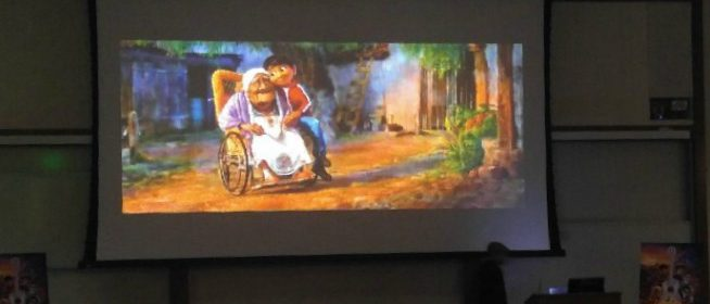 Miguel y su abuela Disney Pixar COCO