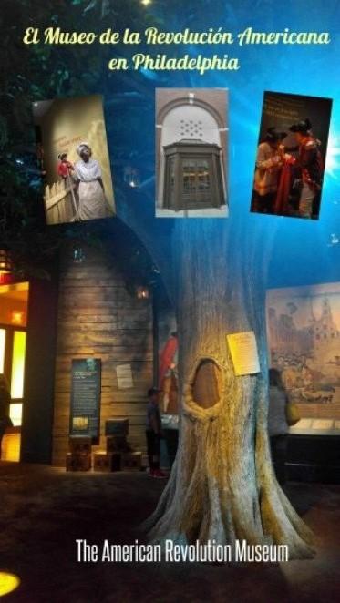 Una visita al Museo de la Revolución Americana en Philadelphia. A visit to the American Revolution Museum.