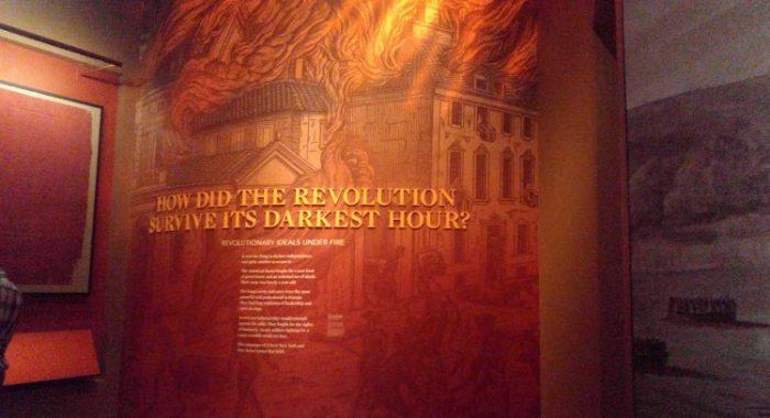 The American revolution museum Philadelphia, el museo de la revolución americana
