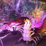 Ciempiés gigantes en Xtreme bugs en Philadelphia