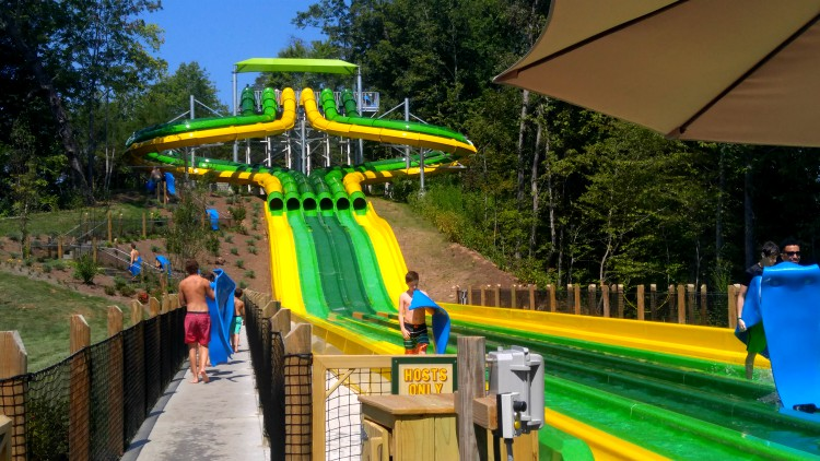 Diversión en Splash Country