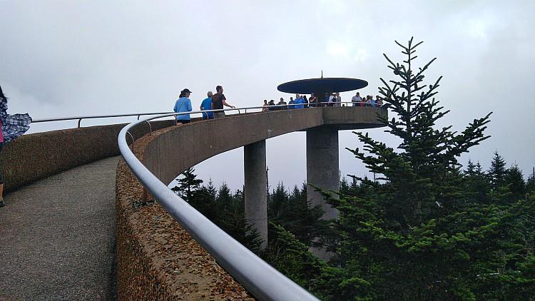 Conociendo Clingsman Dome en las montañas Smokie, uno de los puntos mas altos de estas montañas.
