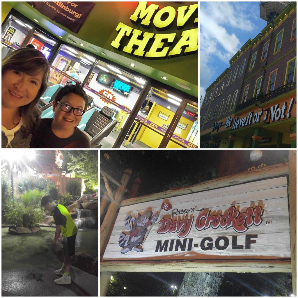 Las diferentes atracciones de Ripley's en Gatlinburg Tennessee