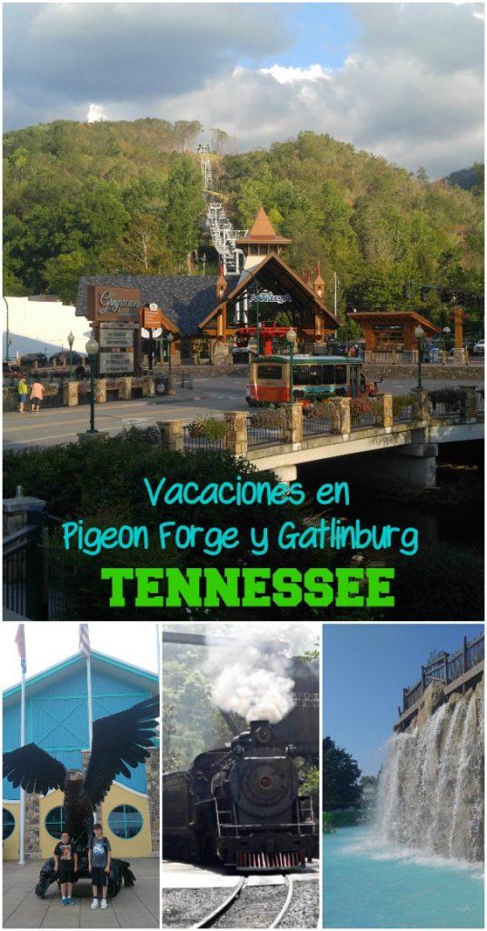 Si te animas a conocer the Great Smoky Mountains con la familia, ten en cuenta lo mucho que se puede hacer en Pigeon Forge y Gatlinburg en Tennessee. Una de las vacaciones más divertidas!