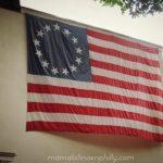 La Bandera cocida por Betsy Ross en Philadelphia