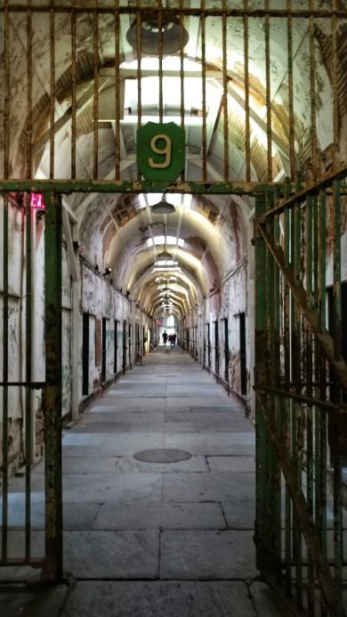 Pasadizos en la cárcel de Filadelfia