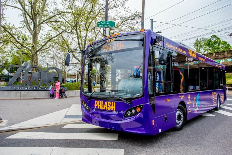 Phlash, un medio de transporte economico para visitar Filadelfia