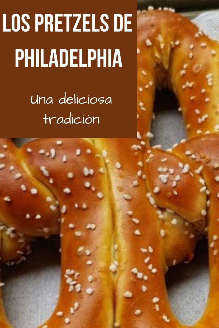 Si vienes de visita a Pennsylvania o si estás de paseo en Philly, no puedes dejar de probar los tradicionales pretzels, uno de los más conocidos y populares del lugar.