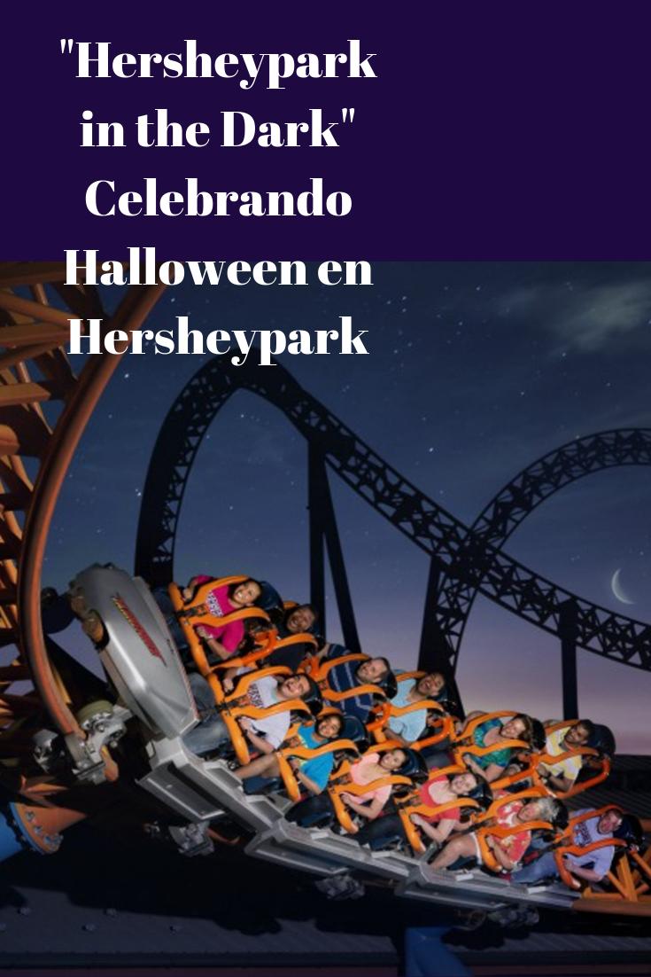 La celebracion de Halloween en Hersheypark. Hershey in the Dark es diversion para todos.
