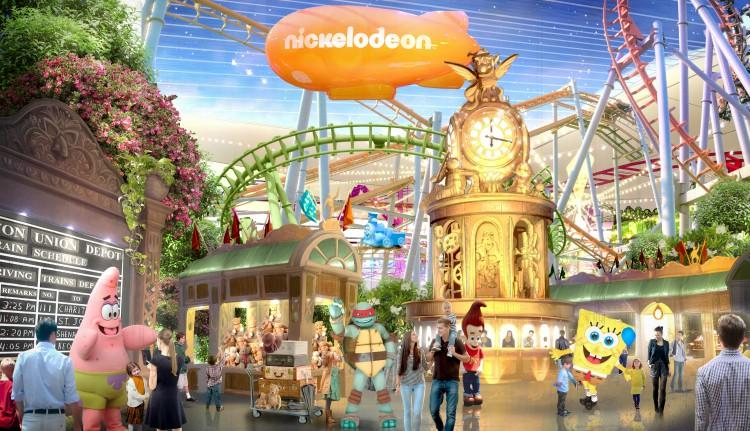 Nickelodeon Universe parque en New Jersey